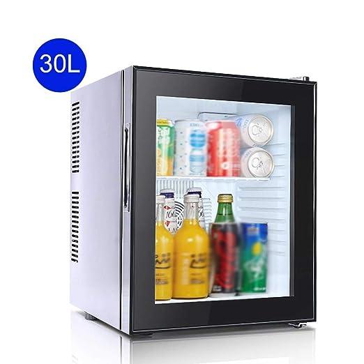 GAONAN Compacta de una Puerta de refrigerador, Mesa Nevera for ...