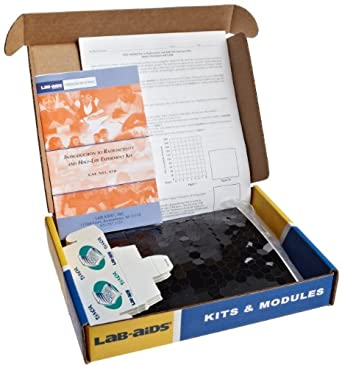 Lab-Aids Introduction to Radioactivity and Half-Life Experiment Kit 450