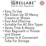 Bellabe, the No.1 Rated Facial Hair Remover that's Made in USA, Best of its kind, Very effective and easy to use, No more waxing, tweezing, shaving or bleaching