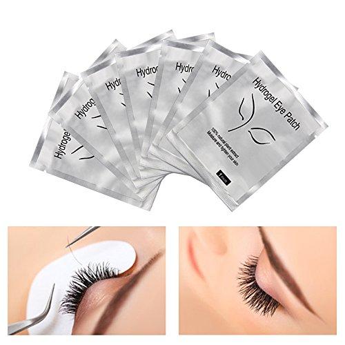 5646f6220fe Adecco LLC Under Eye Gel Pads, 100 Pairs Set Eyelash Extension Pads, Lint  Free