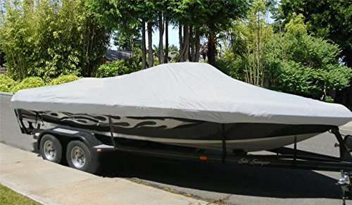 TBG New Boat Cover for SEA RAY 210 SUNDECK 1998-2002 (Sea Ray 210 Sundeck)