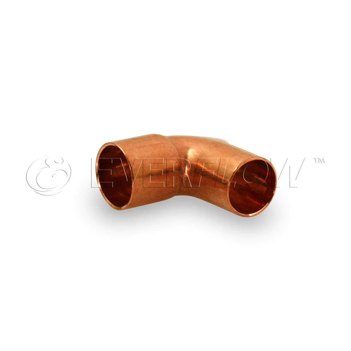 Everflow Supplies CCSN0014 1//4 Nominal Size 90 Degree Short Radius Street Elbow with a Male and a Female Sweat Connect for 3//8 Outer Diameter Copper Pipe