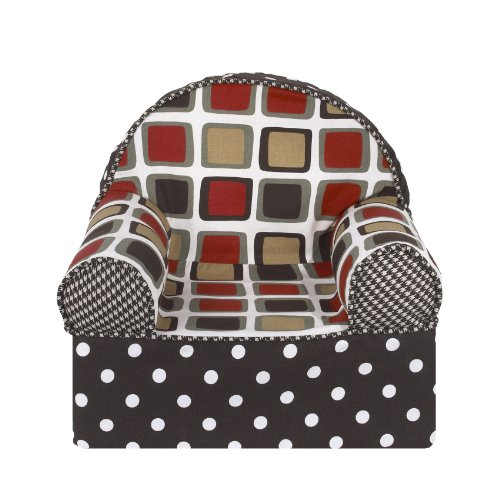 Cotton Tale Designs Baby s 1st Foam Toddler Chair, ONE SIZE, Houndstooth