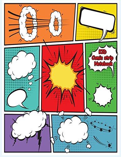 KID Comic strip Notebook Notebook and Sketchbook to Draw Cartooning Comics and Journal for KID and Teen [Perkins, Caroline] (Tapa Blanda)