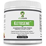 Ketosene™ Powerful Exogenous Ketones Powder Supplement - Get Into Ketosis Quickly With Beta Hydroxybutyrate Ketone - Calcium Magnesium and Sodium BHB Salts - Clean Ketogenic Energy for Keto Diet