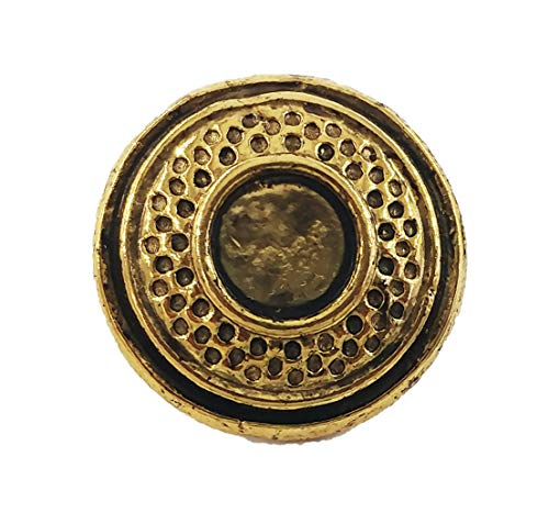 Creative Pewter Designs Clay Target Trap Shotgun Shooting 22k Gold Plated Lapel Pin, Brooch, Jewelry, AG099