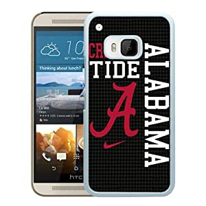 Beautiful Designed Case With Southeastern Conference SEC Football Alabama Crimson Tide 8 White For HTC ONE M9 Phone Case