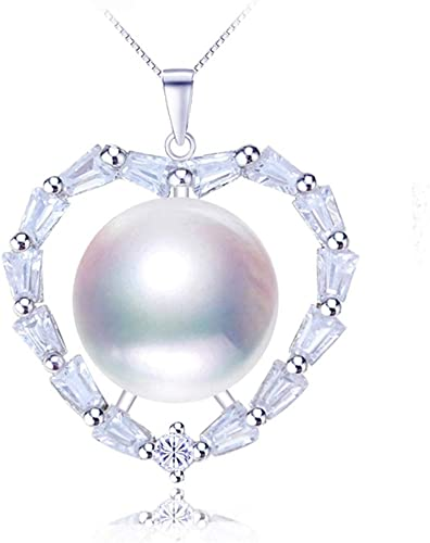Love Pearl Pendant Necklace