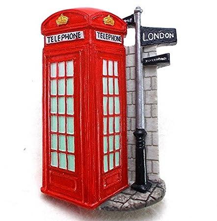 Cabina telefónica, Londres recuerdo Imán para nevera juguete Set ...
