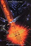 Star Trek VI The Undiscovered Country William Shatner Original Single Sided Rolled 27x40 Movie Poster 1991