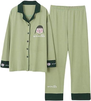Pijamas para Mujer, Pijamas De Mujer Pjs Manga Larga Y Pantalones ...