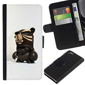 KingStore / Leather Etui en cuir / Apple Iphone 6 / ;