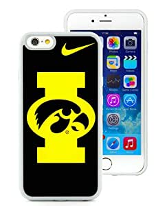 iowa hawkeyes White Best Buy Customized Design iPhone 6 4.7 Inch Silicone TPU Case