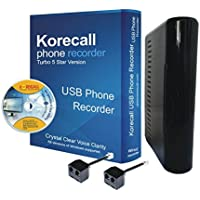 Korecall Phone Recorder For 4 Lines Voice Logger Turbo Version (DHL Shipping)