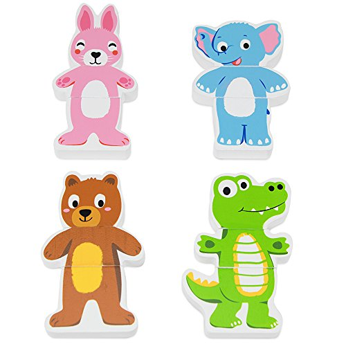 mix and match animal magnets - 2