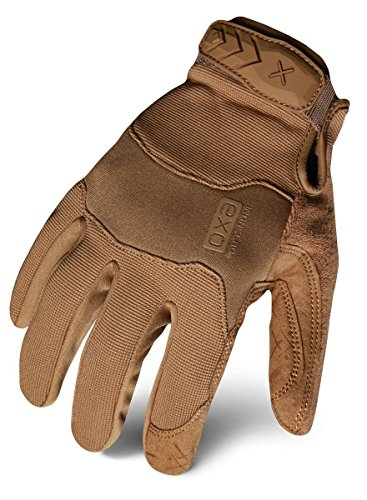 - Ironclad EXOT-PCOY-03-M Tactical Operator Pro Glove, Coyote Brown, Medium