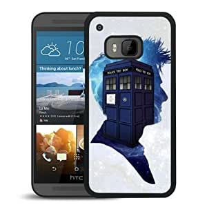Newest And Fashionable HTC ONE M9 Case Designed With Dr Who Black HTC ONE M9 Screen Cover High Quality Cover Case