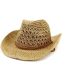 a6236949486d8 Men s   Women s Western Style Cowboy Cowgirl Straw Sun Hat