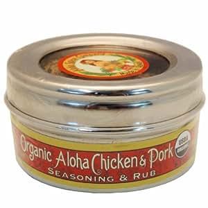 Organic Aloha Chicken & Pork Seasoning & Rub (2 Pack)