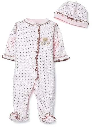 Little Me Mini Heart Layette Pink, Newborn