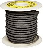Mitchell Abrasives 46-S Round Abrasive Cord, Silicon Carbide 120 Grit .15'' Diameter x 50 Feet