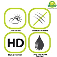 GreatShield Ultra Smooth (HD) Clear Screen Protector Film for HTC One / HTC M7 (3 Pack) – LIFETIME WARRANTY