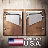 Slim Leather Wallet - Bifold (Made in USA by Mr. Lentz) 005