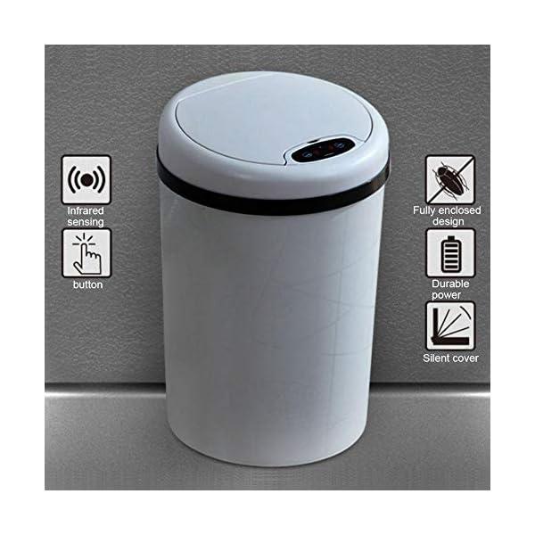 G-wukeer-Compattatore-di-Rifiuti-Intelligente-11LBidone-della-Spazzatura-Elettrico-A-Induzione-A-Vibrazione-A-Induzione-Intelligente-con-Coperchio-per-Soggiorno-Camera-da-Letto-Cucina-E-Bagno-Here