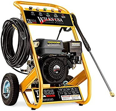 Wilks TX625 Petrol Pressure Washer - Enormous Power