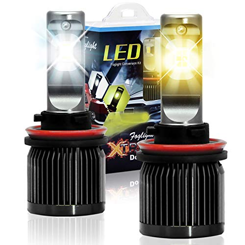 Win Power H11 led Fog Light Dual Color H8 H9 Headlight Bulbs Conversion Kit 3000K/6000K 2 years Warranty