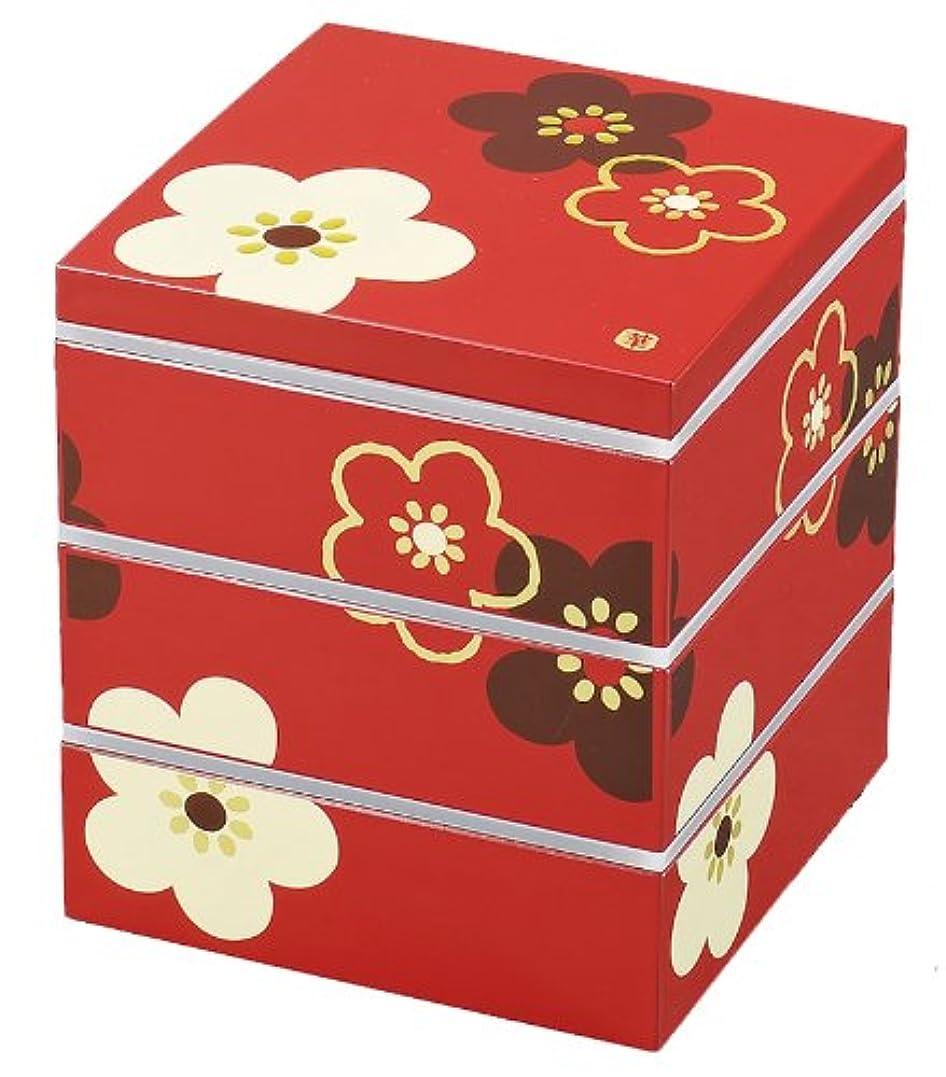 概念避難する製品紀州漆器 桜型 2段 オードブル 重箱 ピンク 仕切り シール中蓋付き