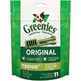 Greenies Original Teenie Dog Dental Chews – 3 Ounces 11 Treats, 1 Pouch Review