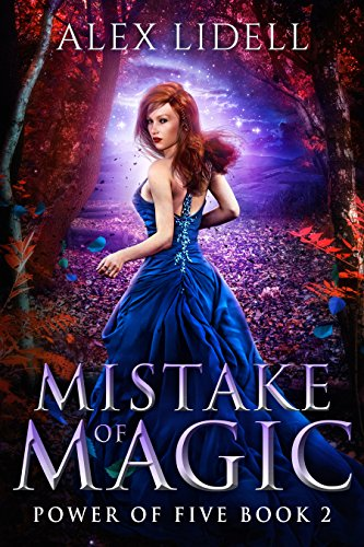 Mistake of Magic: Reverse Harem Fantasy, Book 2 (Power of Five) cover