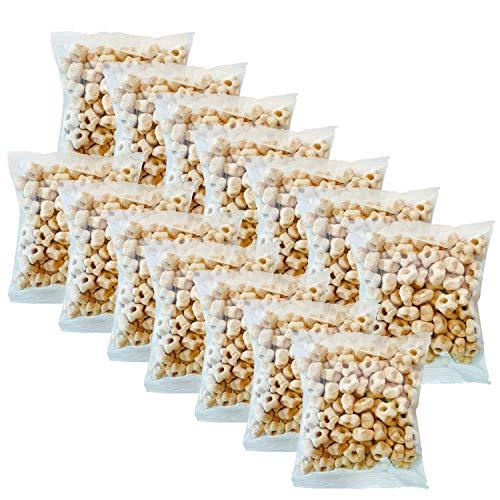 Awsum Snacks Organic Quinoa Star Puffs Cereal Two Weeks Pack (1.5oz 14pack) Gluten Free Snacks Puffed Quinoa Seeds Grain Healthy Snacks Vegan Snacks Diabetic Snacks High Protein And Fiber Crispy Chips