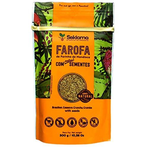 Farofa Funcional Sekiama Farofa:com Sementes Sekiama