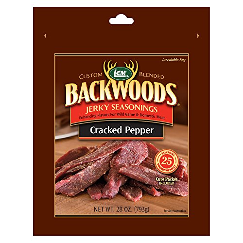 LEM Backwoods Cracked Pepper Seasoning with Cure Packet