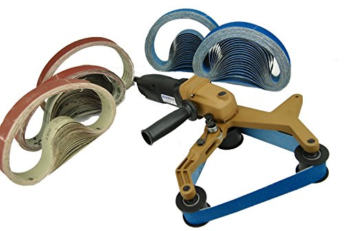 40A & 100 Belts Pipe Polisher Grind Sander BLUEROCK Tools Belts by fits Metabo