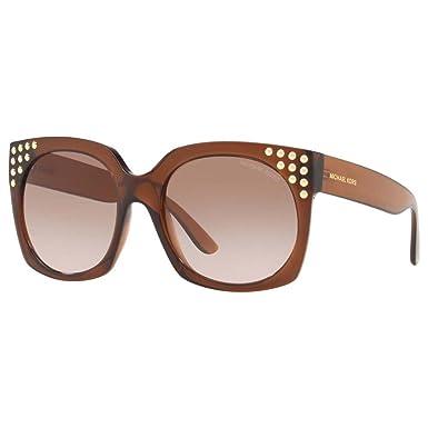 Michael Kors 0MK2067, Gafas de Sol para Mujer, Dark Brown ...