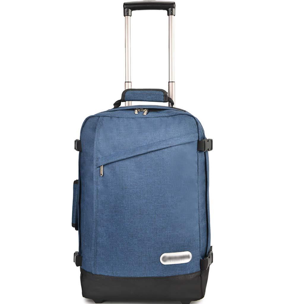 車輪付きトロリーバックパックキャスター付きバックパックナイロンローリングバックパック旅行エグゼクティブモバイルオフィスビジネスハンドキャビン荷物について  C B07MLR5FLZ