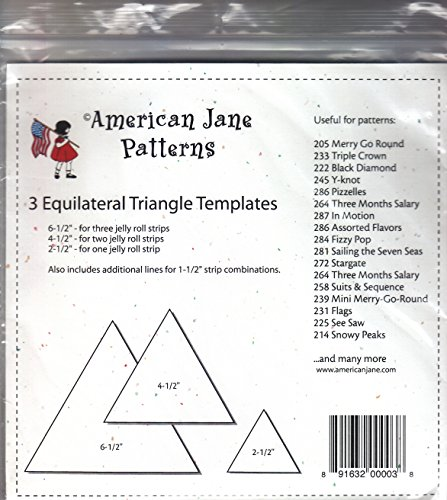3 Equilateral Triangle - Jane American Quilt Patterns