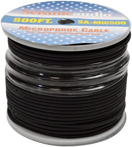 Seismic Audio SA MIC500 Microphone Cables product image