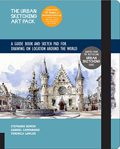 (The Urban Sketching Art Pack: A Guide Book and Sketch Pad for Drawing on Location Around the World--Includes a 112-page paperback book plus 112-page sketchpad)