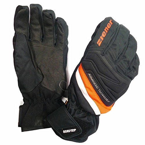 ZIENER GEYSER GTX XCR neon (Orange Xcr Gloves)
