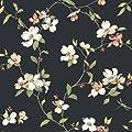 York Wallcoverings Ashford House Blooms Dogwood Wallpaper