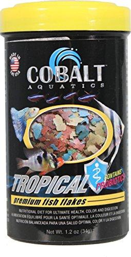 Cobalt Aquatics Tropical Flake, 1.2 oz