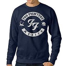 WENG Foo Fighters Men's Exclusive Neck Sweatshirt Navy