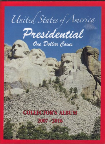 U.S. Presidential Coin Album Folder 2007-2016 (No Coins)