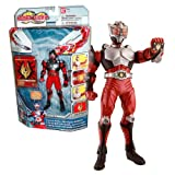 Bandai Year 2009 Kamen Rider Dragon Knight TV Series 6 Inch Tall Action Figure - DRAGON KNIGHT with Advent Card