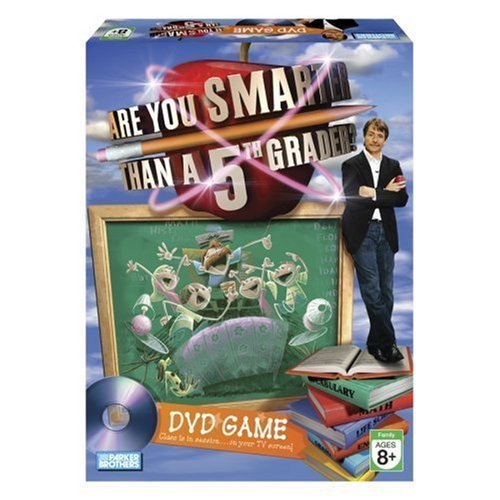 Are You Smarter than a 5th Grader? DVD Game by Hasbro