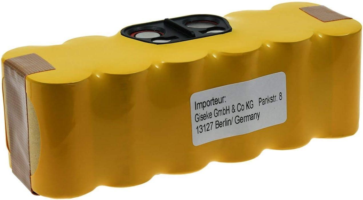 Powery Batería para Robot Aspirador iRobot Roomba 650: Amazon.es ...